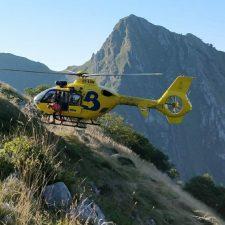 Cuatro senderistas rescatados ilesos en Ponga y Cabrales