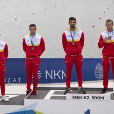 Tras la plata en K2 500m, Pelayo Roza y Pedro Vázquez también estarán en la final K4 500