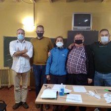 La Junta Vecinal gana en Porrúa y Fernando Meré lo hace en la parroquia de Caldueñu