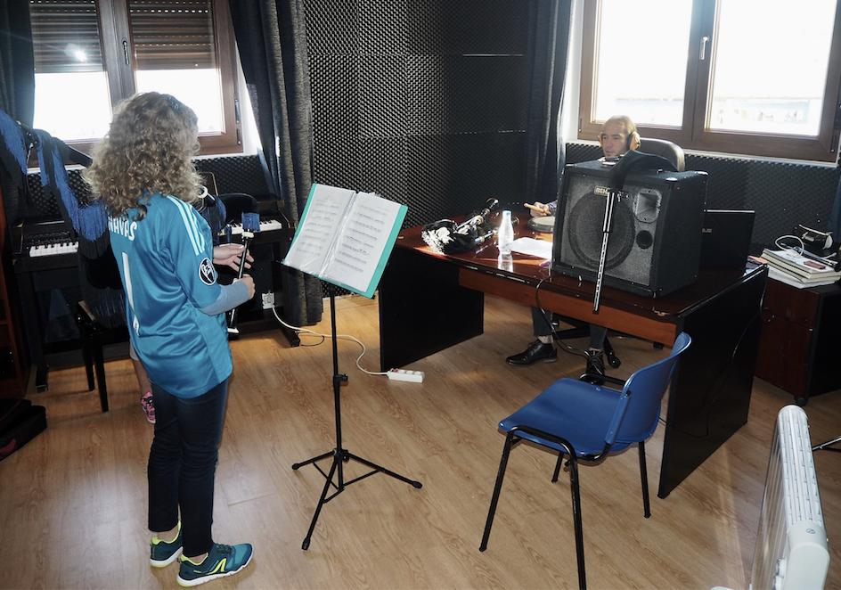 La mejor gaitera infantil en el Concursu de Villaviciosa vuelve a la Escuela Municipal de Música de Ribadesella