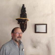 Agradecimiento de la Asociación Iglesia de Moru a la labor desempeñada por José María Orviz durante el proceso de restauración