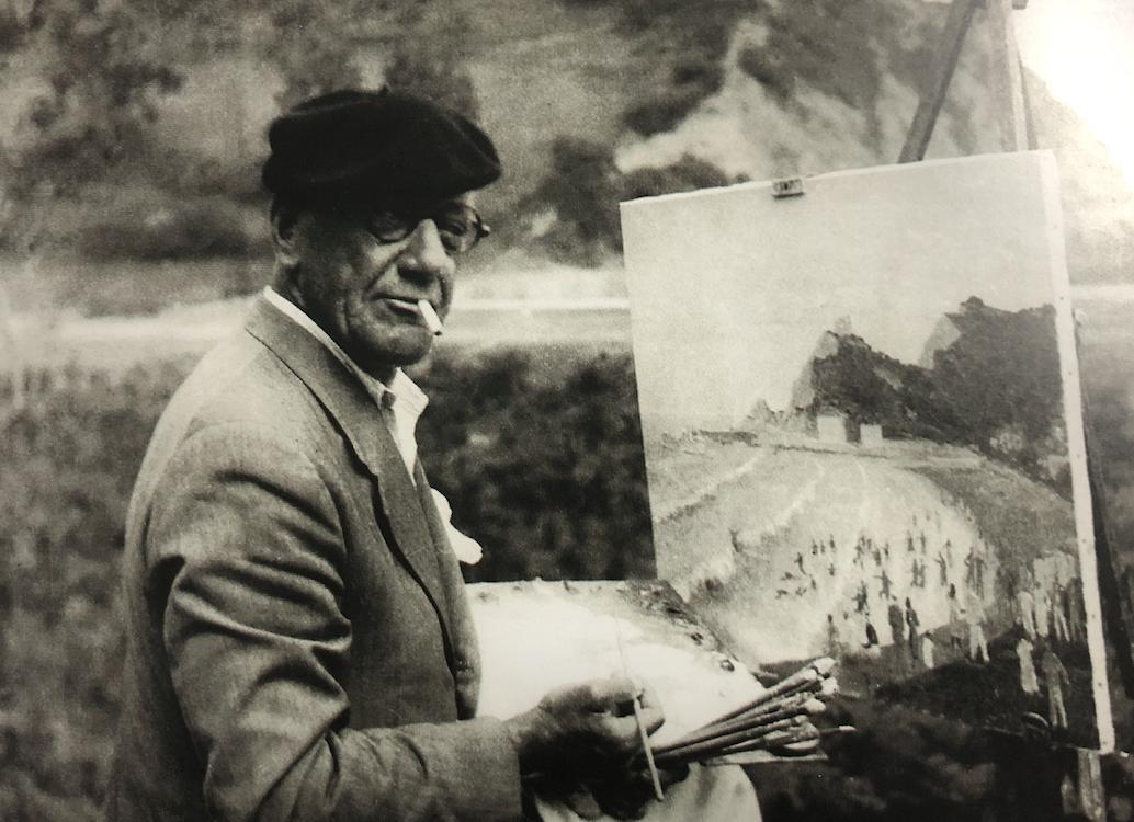 Juan José Rochelt el artista que pintó como nadie la villa y el concejo de Ribadesella