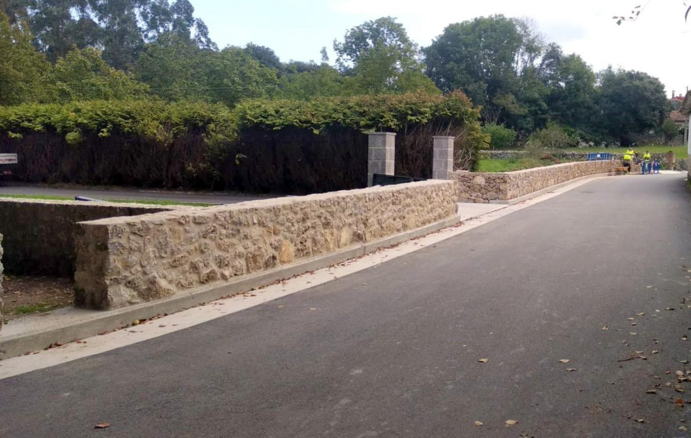 Mientras Lledías estrena muro y barandilla en Rales se acomete la mejora del camino Maraperi