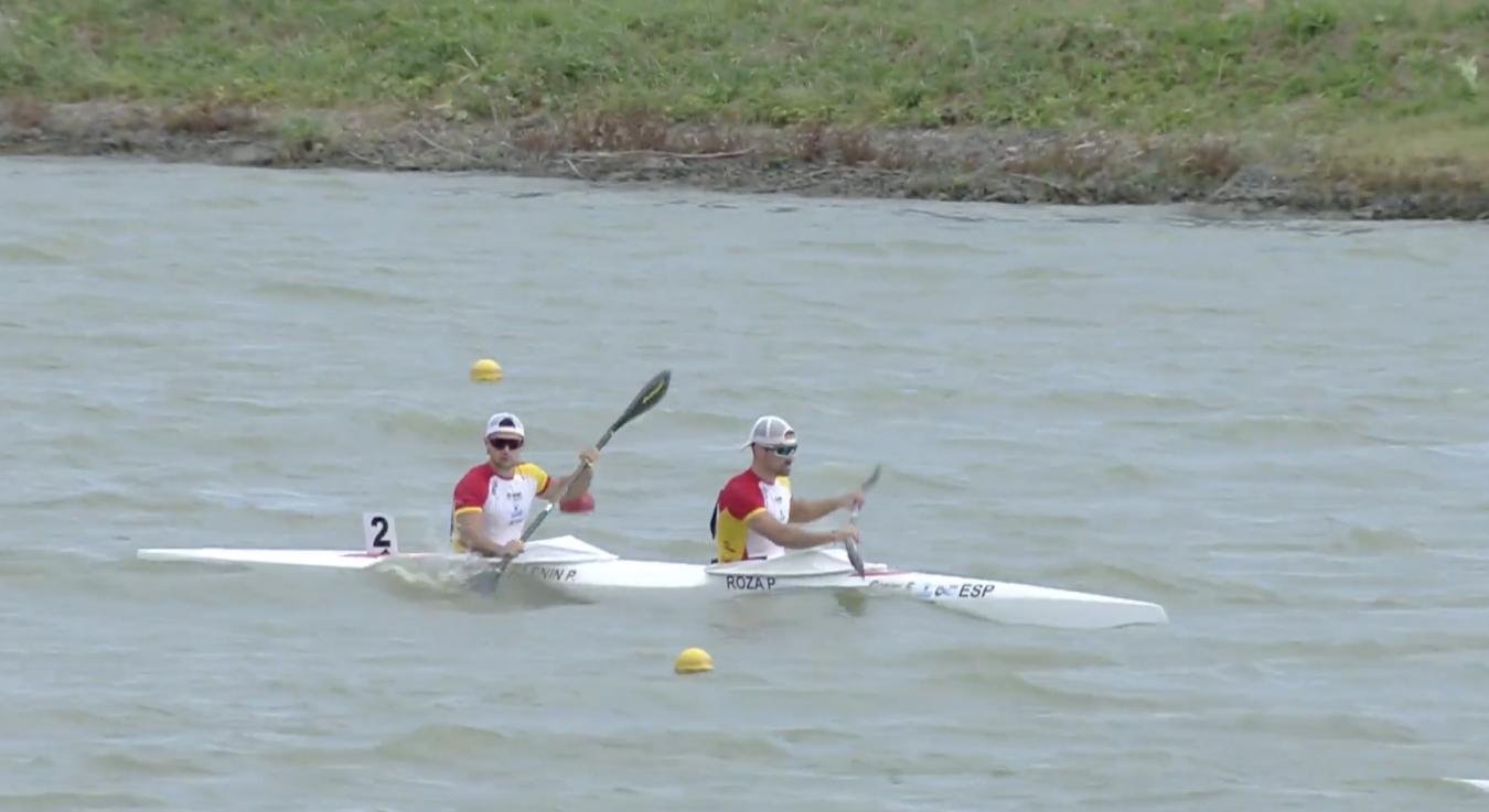 Pelayo Roza y Pedro Vázquez directos a la final del K2 500 en la Copa del Mundo de Hungría