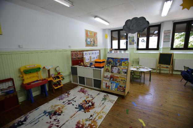La alerta naranja de Ponga obliga al cierre preventivo de la escuela rural de Beleño