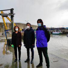 El Principado promete futuras labores de mantenimiento en el puerto de Llanes para garantizar su calado