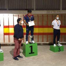 El peñamellerano Enrique Cosío se proclama Campeón de España de Bolo-Palma por cuarta vez