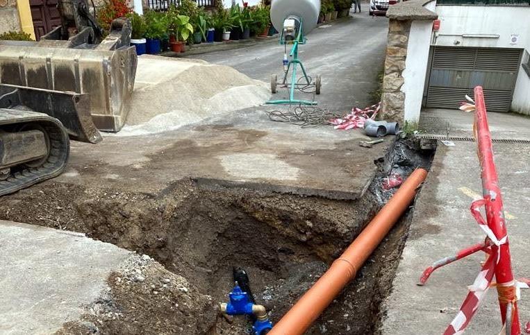 12.000 euros para renovar la red de abastecimiento de agua al barrio de La Nogalera en Nueva (Llanes)