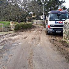 Comienzan las obras para poner punto final a las inundaciones en La Portilla de Nueva (Llanes)