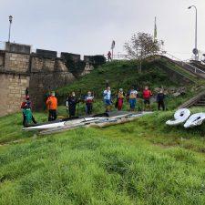 Obsequio del CODIS a Maxi Llamedo tras completar sus 90 descensos en homenaje al Sella