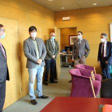 El Consejero de Ciencia e Innovación inicia con Minersa la ronda de contactos con la minería asturiana