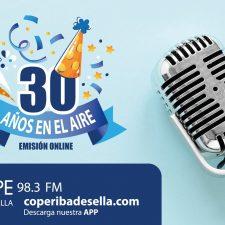 COPE Ribadesella cumple 30 años en antena este 1 de diciembre de 2020
