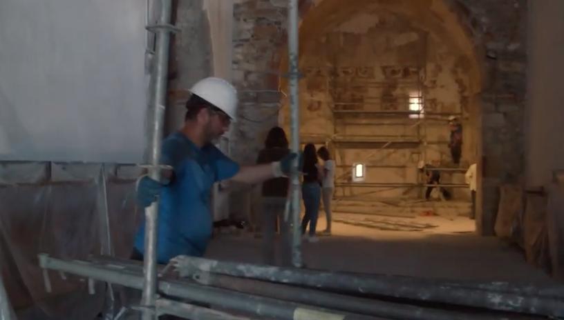 El Festival de Cine de Gijón estrena esta tarde el documental sobre la restauración de la iglesia de Moru (Ribadesella)
