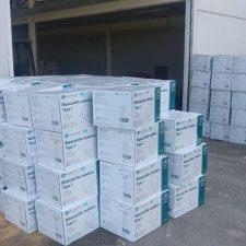 Ribadesella entre los municipios con mas baja incidencia Covid recibe las 156.000 mascarillas adquiridas