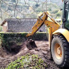 Concluye la mejora de dos caminos en el llanisco pueblo de Purón