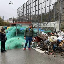 CS Colunga denuncía el abandono que sufren las instalaciones del puerto de Lastres