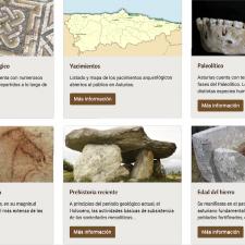Cultura abre un portal con información técnica y práctica sobre los principales yacimientos arqueológicos asturianos