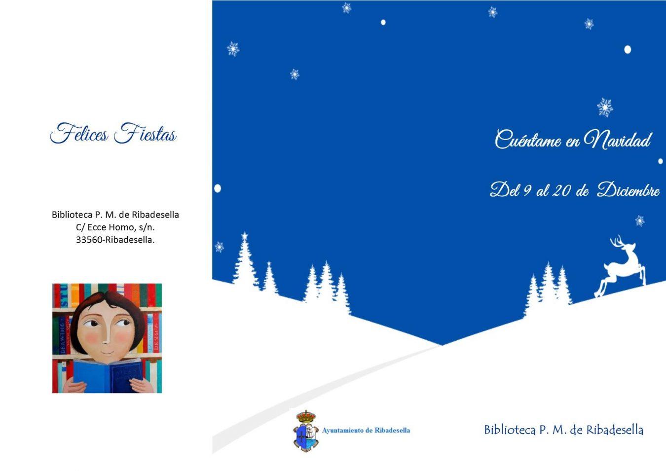 La Biblioteca de Ribadesella busca cuenta-cuentos para pasar juntos la Navidad