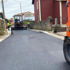 El Ayuntamiento de Llanes concluirá el lunes la mejora de la calle La Portilla de Nueva