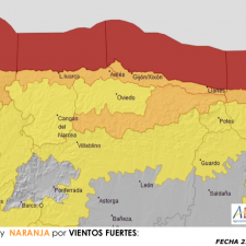 Activado el plan de emergencia en nivel rojo por fuertes vientos para mañana domingo