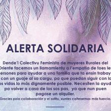 Alerta Solidaria para ayudar a una familia que se ha quedado sin trabajo a regresar a su tierra