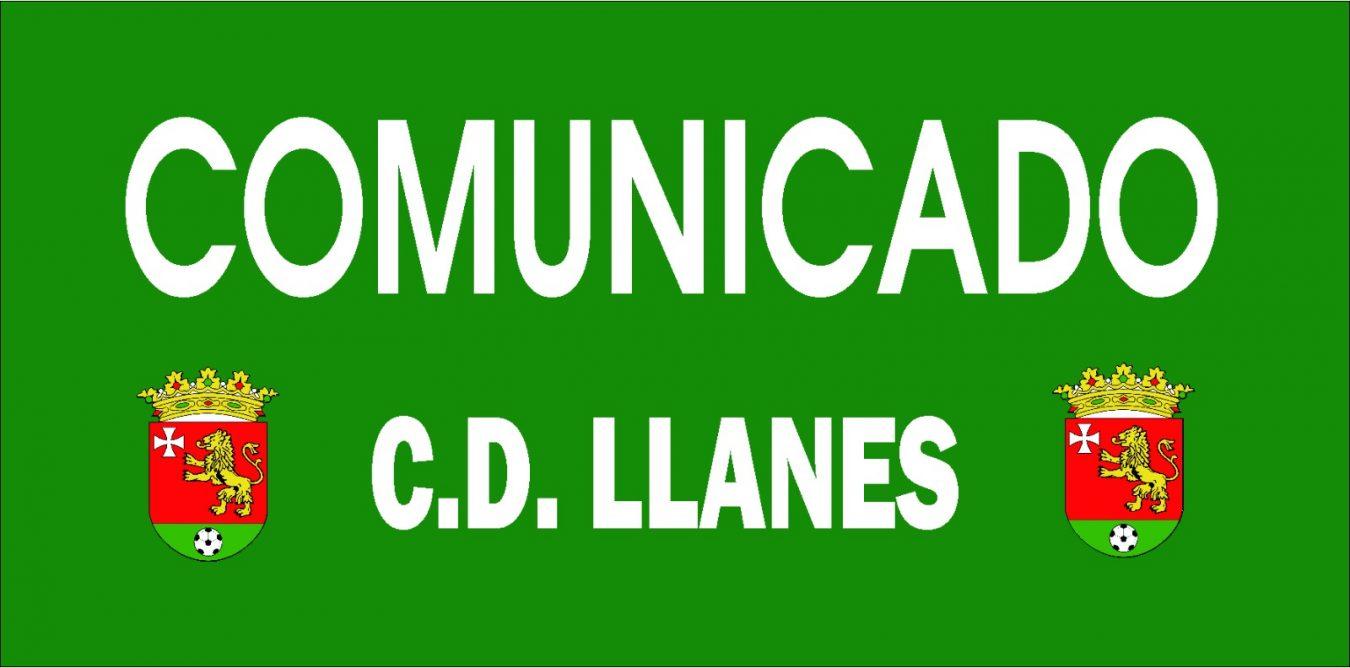 Comunicado del CD Llanes ante un posible brote de Coronavirus en su primera plantilla