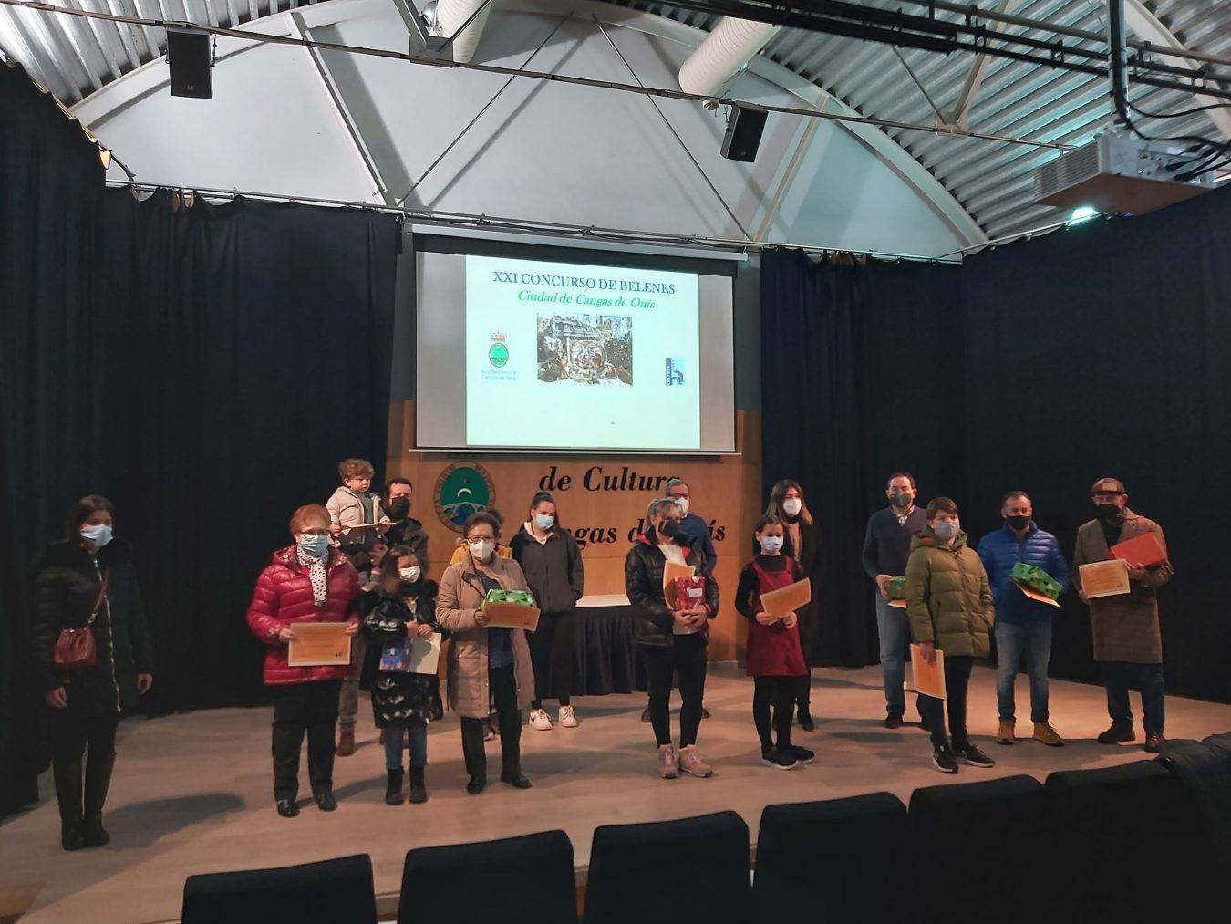 Fallados los premios del XXI Concurso de Belenes Ciudad de Cangas de Onís