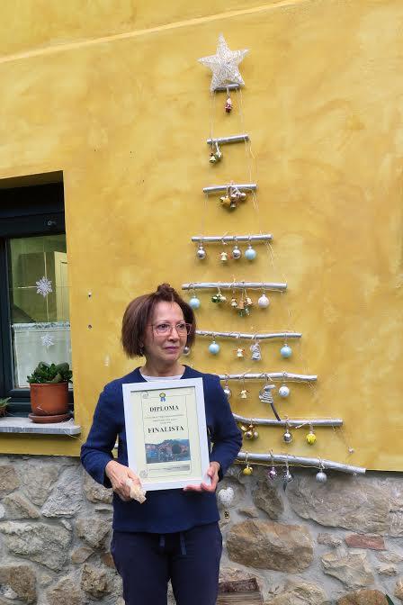 María del Carmen Blanco gana el 1º Concurso de Escenas Navideñas de Santianes del Agua (Ribadesella)
