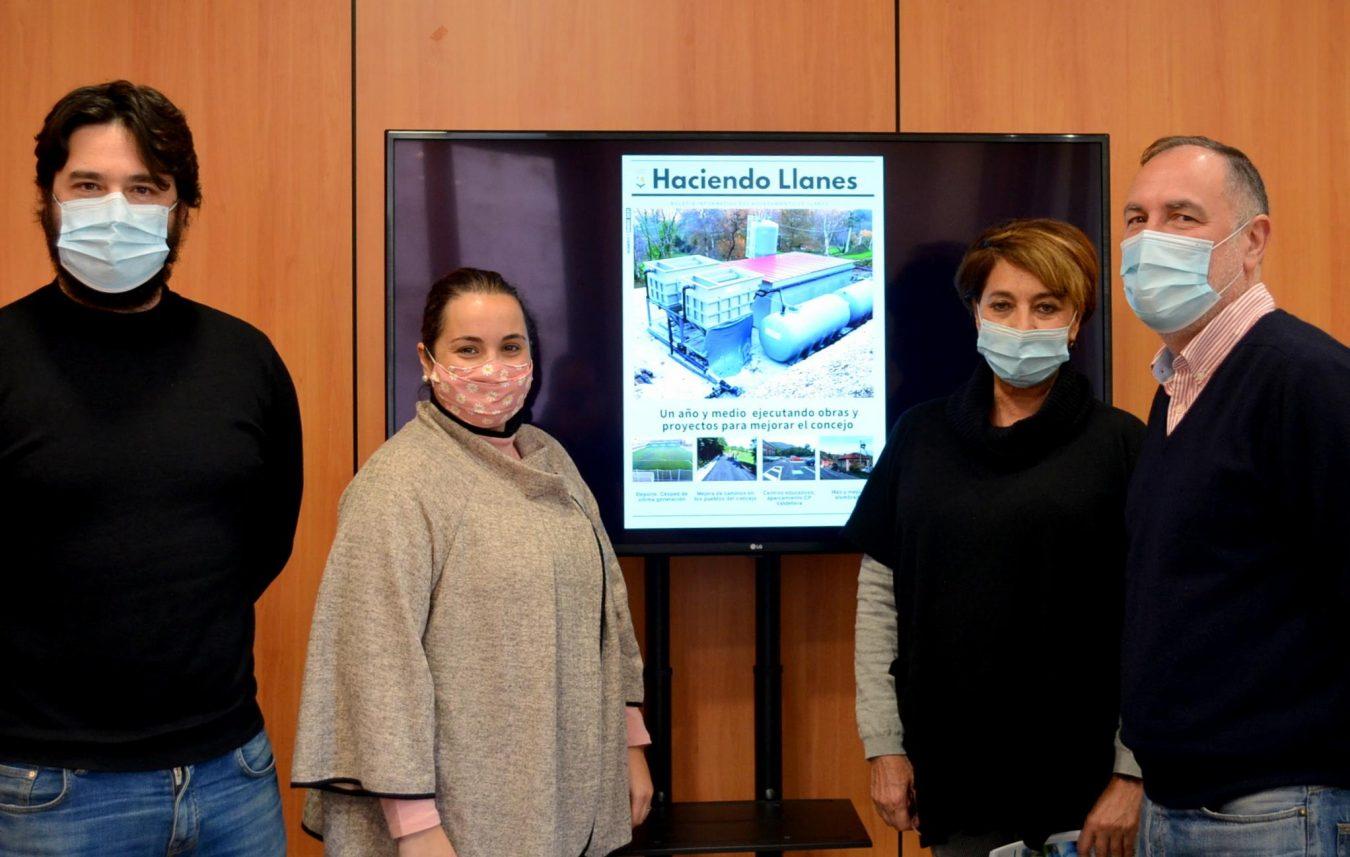 Polémica en Llanes con el boletín municipal que desde esta semana publica el cuatripartito
