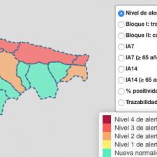 Llanes, Ribadedeva y Ribadesella en riesgo de cierre perimetral por el aumento de contagios