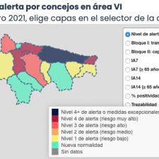 Llanes, Parres y Ribadesella se reparten los 11 nuevos positivos del Oriente de Asturias