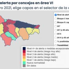 Ocho municipios del Oriente de Asturias se reparten los 25 nuevos positivos de ayer