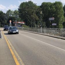 La licitación de las obras del puente de Arriondas pendiente de un estudio de seguridad