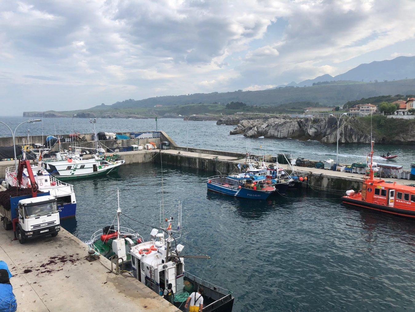 PSOE y PP a la gresca en Llanes por el dragado y las carencias del puerto pesquero