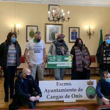 La San Silvestre de Cangas de Onís reúne mas de 22.000 euros para investigar el sarcoma de Ewing