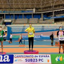 Alejandro Onís gana otra medalla de España para el Club Oriente Atletismo