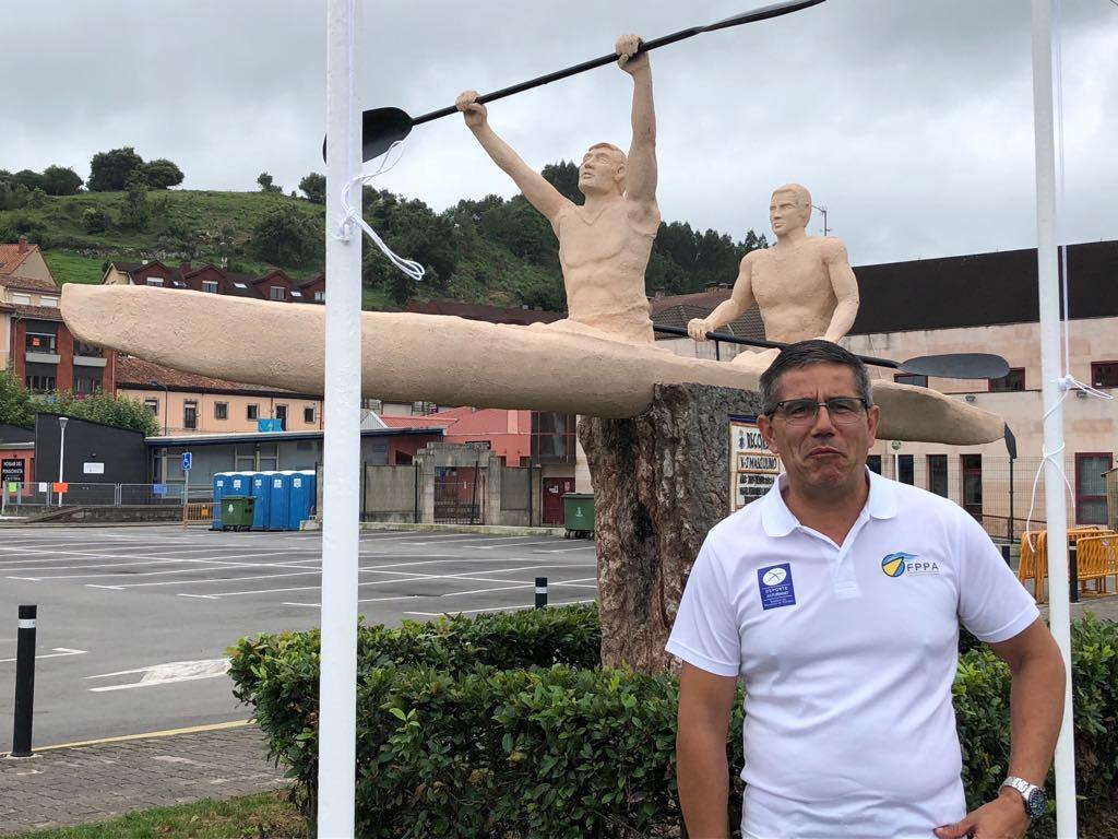 Avelino Morís no se presentará a la reelección en la Federación de Piragüismo del Principado de Asturias