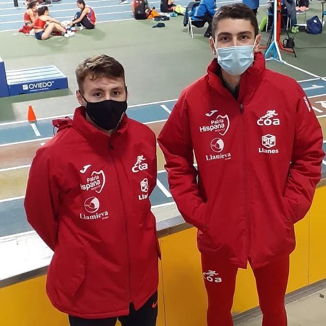 El sábado comienza en Valencia el Campeonato de España Sub23 de pista cubierta con dos deportistas del Club Oriente Atletismo