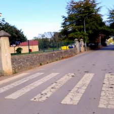Protección Civil controlará los semáforos móviles que se instalarán en el acceso al colegio público de Posada de Llanes