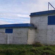 Un argayu impide conectar el depósito de Sardéu a la red de Calabrez en el concejo de Ribadesella