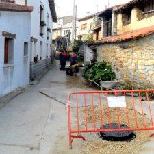 Comienza el saneamiento del barrio El Collau de Villahormes