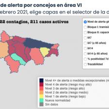 Llanes, Ribadesella, Cangas de Onís, Parres y Ribadedeva siguen sumando contagios