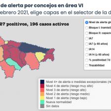 Los casos activos bajan de 200 en la comarca oriental, que suma 5 nuevos positivos