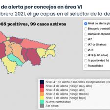 Piloña, Ribadesella, Parres, Llanes y Colunga suman los nuevos positivos por coronavirus