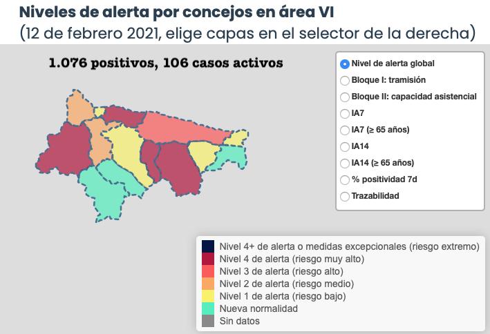 Los contagios se vuelven a desmadrar en Ribadesella y Piloña