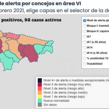Solo Ribadesella suma contagios en la última actualización epidemiológica del Oriente de Asturias