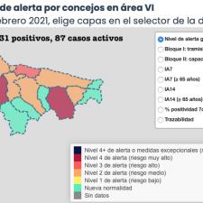 Sorpresa en el reparto de los 6 nuevos contagios de coronavirus en el Oriente de Asturias
