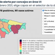 Ribadesella entra en la nueva normalidad y Piloña, Ponga y Cangas de Onís empeoran su situación epidemiológica