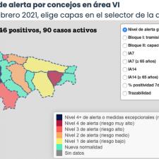 El Oriente de Asturias experimenta una mejoría general a pesar de sumar 5 nuevos positivos