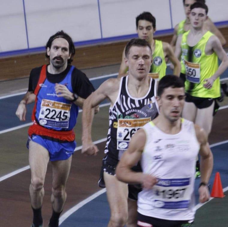 Continúan los controles selectivos en pista cubierta del atletismo asturiano